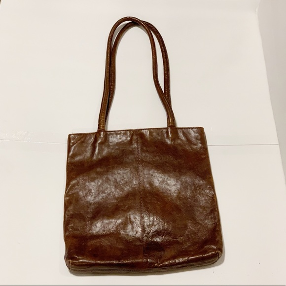 8118d4ad36d3 Laura Ashley Handbags - Vintage Laura Ashley Distressed Leather Tote